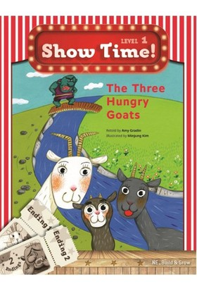 The Three Hungry Goats +Workbook +Multirom (Show Time Level 1)