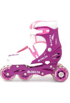 Delta SMP 111 Starter Mor & Beyaz Inline Skate Paten