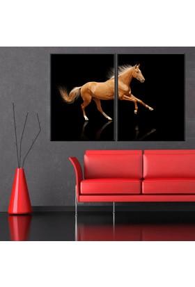 Eslim İ200 Horse Parçalı Tablo 100X150 Cm