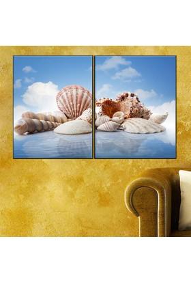 Eslim İ370 Deniz Kabukları Parçalı Tablo 100X150 Cm