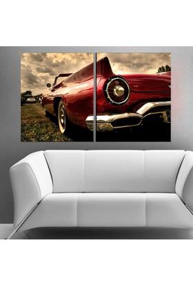 Eslim İ600 Cadillac Parçalı Tablo 50X75 Cm