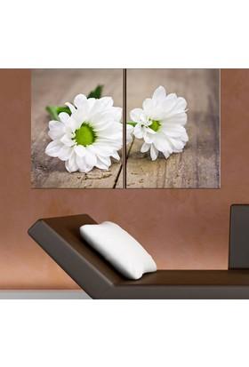 Eslim İ9 2 Parçalı Flowers Kanvas Tablo 100X150 Cm