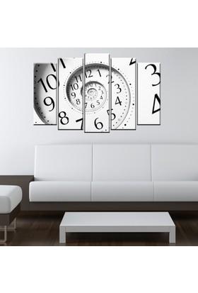 Eslim B211 Clock Parçalı Tablo 100X55 Cm