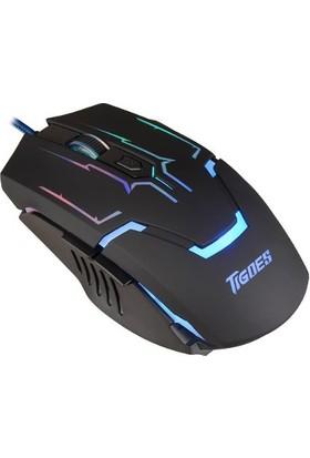 Tigoes Gm170 Gaming Ledli Oyuncu Mouse