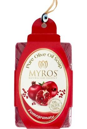 Myros 3'Lü Nar Özlü Zeytinyağı Sabunu - 80 Gr