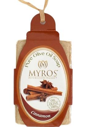 Myros 3'Lü Tarçın Özlü Zeytinyağı Sabunu - 80 Gr