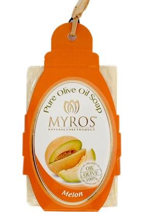 Myros 5'Li Kavun Özlü Zeytinyağı Sabunu - 80 Gr