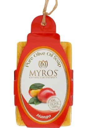 Myros 5'Li Mango Özlü Zeytinyağı Sabunu - 80 Gr