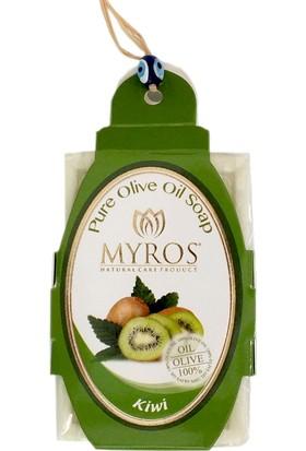 Myros 5'Li Kivi Özlü Zeytinyağı Sabunu - 80 Gr