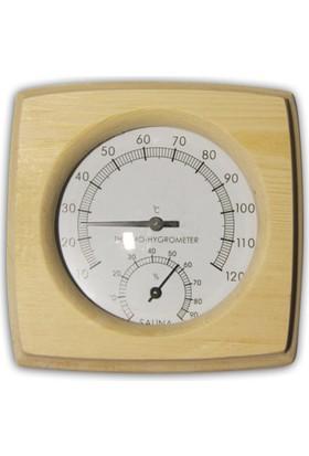 EnvoySpa - Sauna Ahşap Termometre-Higrometre