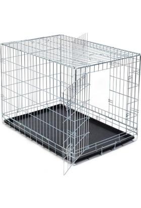 Trixie Katlanabilir Galvaniz Taşıma Kafesi 64X54X48 Cm