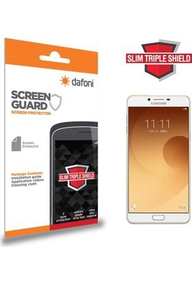 Dafoni Samsung Galaxy C9 Pro Slim Triple Shield Ekran Koruyucu