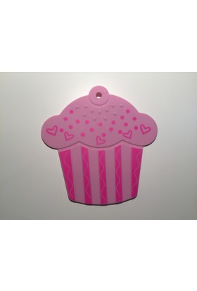 d-sign home Silikon Cupcake Nihale - Pembe