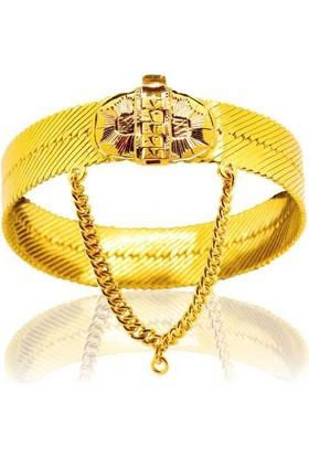 Bilezikhane Diyarbakır Hasır Kelepçe 61,00 Gram 22 Ayar Altın