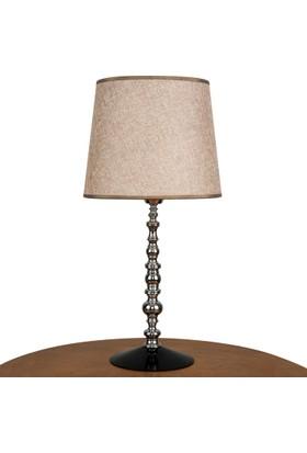 Superlight Chelsea Abajur. Charm Şapkalı - Krom