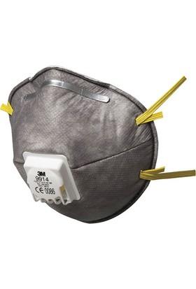 3M 9914 Ffp1 Ventilli Düşük Konsantrasyonlu Organik Gaz Ve Toz Maske