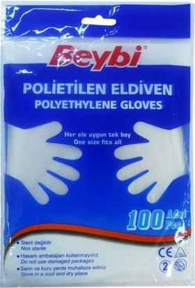 Beybi Beybi Pet Eldiven (Polietilen) 1paket=100 adet