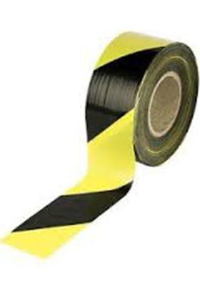 Özbay İkaz Bantı 500 Mt Siyah Sarı