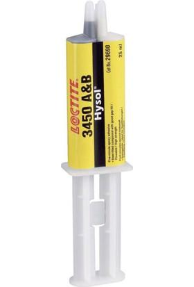 Loctite 3450 Metal Set İkiz Şırınga 25Ml