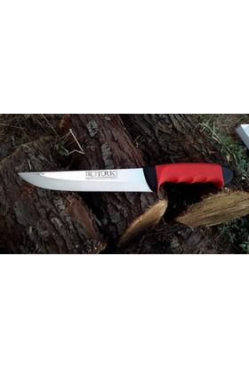 Protürk Kesim Bıçağı-3Mm T7 Çelik-Kaymaz Silikon Sap-34Cm