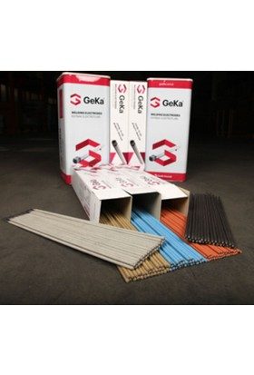 Geka Elhard 600 4,00X450 Mm Sert Dolgu Elektrot 1 Paket=100 Adet
