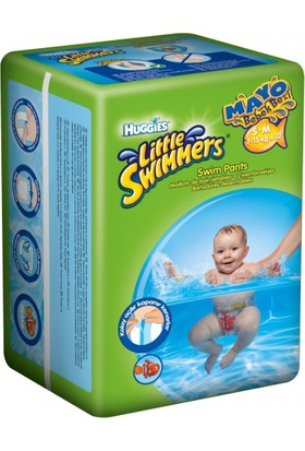 Huggies Little Swimmers Mayo Bebek Bezi 7-15 kg (S / M) 12`li