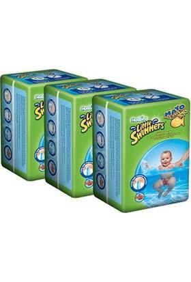 Huggies Little Swimmers Mayo Bebek Bezi 7-15 kg (S / M) 3 Adet