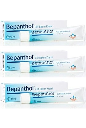 Bayer Bepanthol Cilt Bakım Kremi 3 Kutu 90 gr