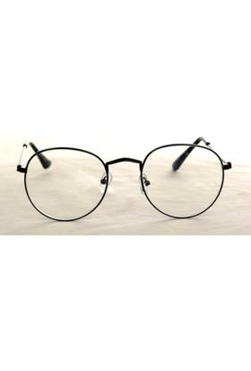 Modaroma Oval Siyah Gözlük K