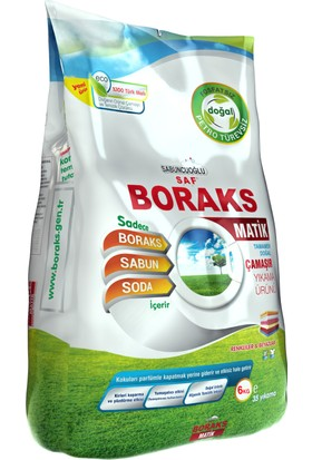 Sabuncuoğlu SAF Boraks Boraks Matik Doğal Çamaşır Yıkama Ürünü