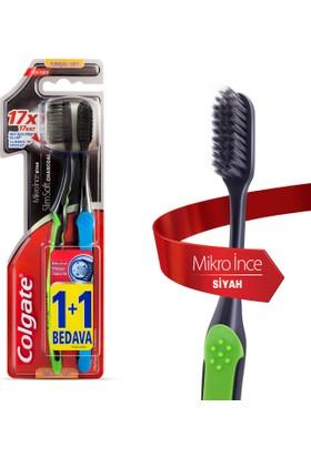 Colgate Diş Fırçası Mikro İnce Siyah 1+1 Yumuşak