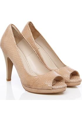 Gön Deri Kadın Ayakkabı 12295