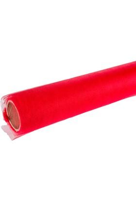 LoveQ Tül Kristal 10 Mt x 120-150 (±) Kırmızı
