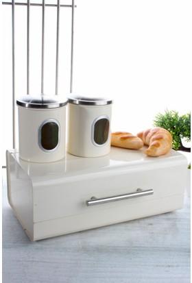 LoveQ Çelik Ekmek Dolabı Ve Baharatlık Ckr-999