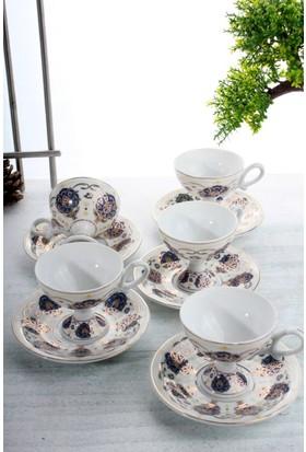 LoveQ Porselen 6'lı Fincan Seti Ckr-1286-S