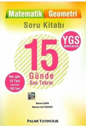 Palme YGS 15 Günde Son Tekrar Soru Kitabı, Matematik Geometri