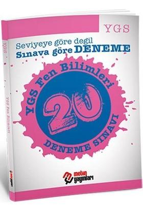Metin Yayınları YGS Fen Bilimleri 20 Deneme Sınavı
