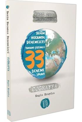 Benim Hocam Yayınları 2017 KPSS Genel Kültür Coğrafya Tamamı Çözümlü 33 Deneme Sınavı