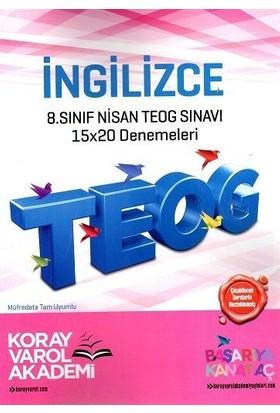Koray Varol 8. Sınıf TEOG 2 İngilizce 15X20 Deneme