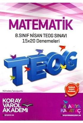 Koray Varol 8. Sınıf TEOG 2 Matematik 15X20 Deneme