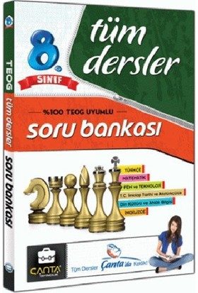Çanta Yayınları 8. Sınıf Tüm Dersler Soru Bankası