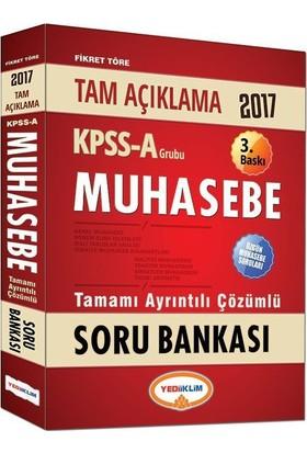 Yediiklim 2017 KPSS A Muhasebe Tamamı Çözümlü Soru Bankası