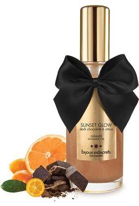Bijoux Indiscrets Sunset Glow - Siyah Çikolata Parıldatıcı Yağ