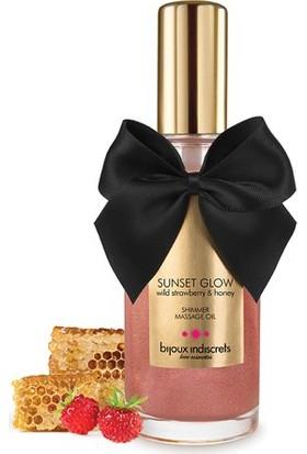 Bijoux Indiscrets Sunset Glow - Yaban Çileği Parıldatıcı Yağ