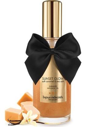 Bijoux Indiscrets Sunset Glow - Tatlı Karamel Parıldatıcı Yağ