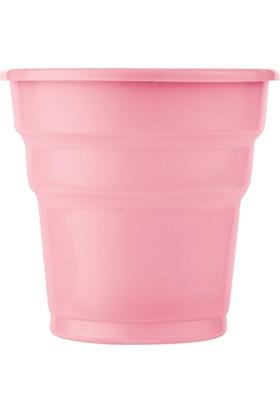 Kullanatmarket Pembe Plastik Meşrubat Bardağı 10'Lu