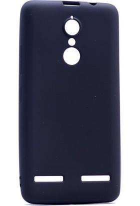 Kny Lenovo K6 Note Kılıf Ultra İnce Mat Silikon+Cam