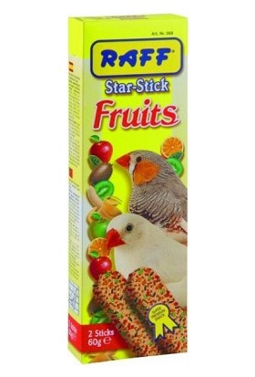 Raff Fruıts Meyveli Egzotik Kuş Krakeri 60 Gr