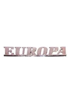 Parçacım R19 Europa Yazı