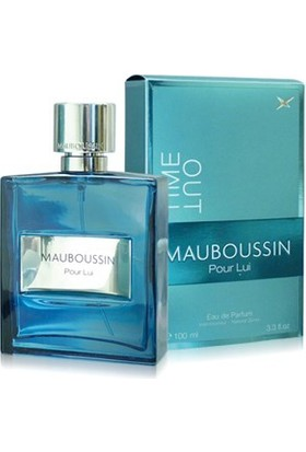 Mauboussin Tıme Out Pour Lui Edp Spray Edp 100Ml Erkek Parfümü